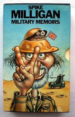 SPIKE MILLIGAN MILITARY MEMOIRS 3 BOOK SET  Adolf Hilter My Part In His Downfall • 8.61£