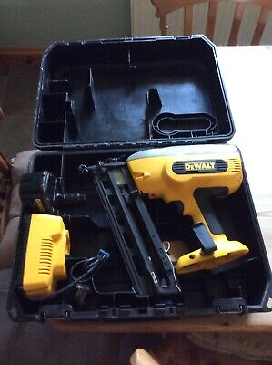 DeWalt DC618 Nail Gun. With Box, Battery And Charger. Used Second Fix. • 125£