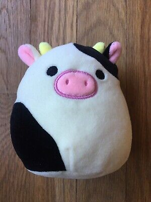 $ CDN36.79 • Buy Squishmallows Connor The Cow 5  Squishmallow Small Plush Kellytoy HTF RARE