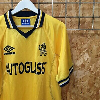 NEW Genuine Vintage Chelsea Umbro Third Shirt 1999/2000 L LARGE Jersey Away 3rd • 26£