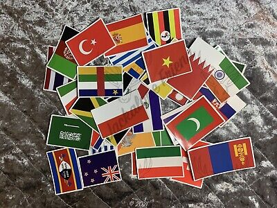 £1.20 • Buy Country Flag Stickers & Country Shaped Stickers - Lots Of Countries Listed