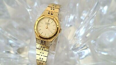 $ CDN36.79 • Buy Vintage Seiko Quartz Vintage Gold Tone Bracelet Womens Watch (D36)