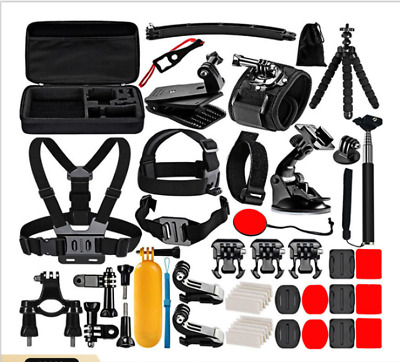 $ CDN50.11 • Buy 50 In 1 Accessories Kit For Gopro Hero 9 8 7 6 5 Action Sport Camera Accessories