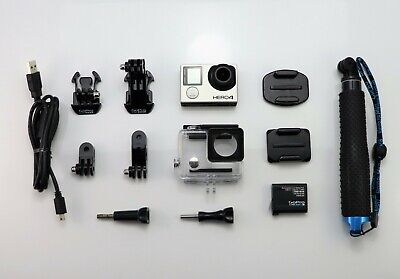 $ CDN210.38 • Buy Gopro Hero 4 Black Edition Camcorder 1080p / 4k Hd Sports Action Video Cam Sdhc