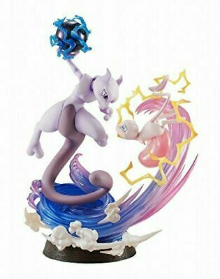 $192 • Buy G.E.M.EX Series Pokemon Mew And Mewtwo PVC Painted Figure MegaHouse From Japan