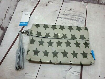 Caboodle Travel Bag  Wallet Grey/Stars W10.5in L7in • 7.99£