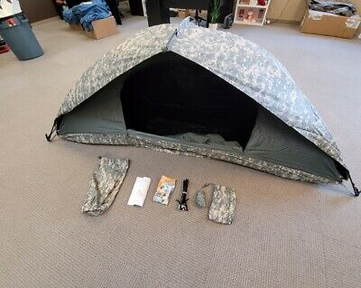 $152 • Buy US Army Military Tent Universal Improved Combat Shelter Digital ACU