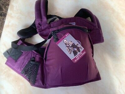 Purple Hip Seat Style Baby Carrier Bnwt • 5£