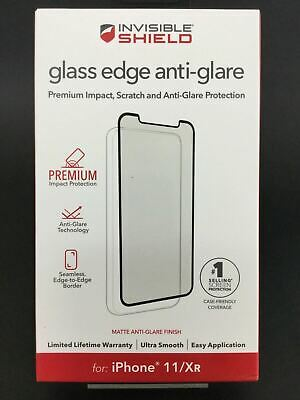 AU29.95 • Buy Zagg Invisible Shield Glass Edge Anti-Glare Screen Protector For IPhone 11 & XR