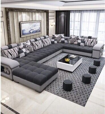 AU2700 • Buy Sofa Set 7 Seater Perfect For Living Room (usb & Bl Speakers)