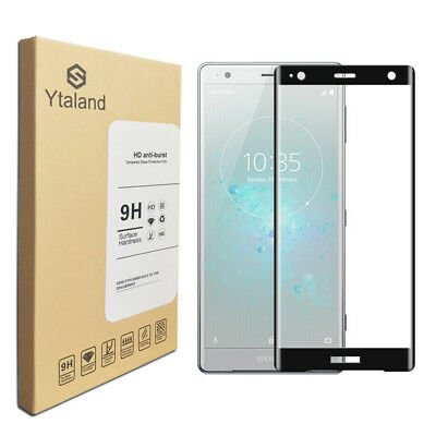 AU6.98 • Buy 3D Full Cover Tempered Glass Screen Protector For Sony Xperia XZ2 XZ2 Compact