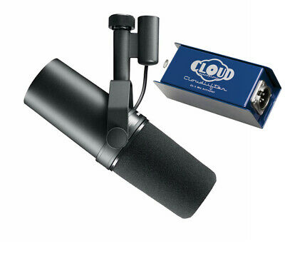 £381.61 • Buy Shure SM7B & Cloudlifter CL-1 Activator Microphone Preamp