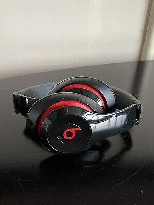 £30 • Buy Beats By Dre Studio Black And Red Over Ear Headphones