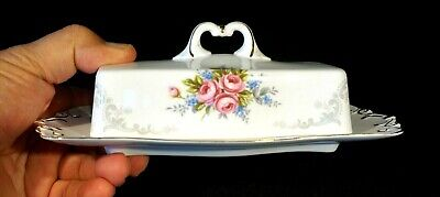 £127.59 • Buy Beautiful Rare Royal Albert Tranquility Butter Dish And Underplate