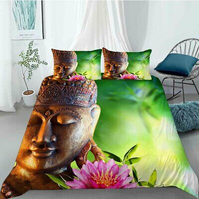 AU92.11 • Buy Strategy Buddha 3D Printing Duvet Quilt Doona Covers Pillow Case Bedding Sets