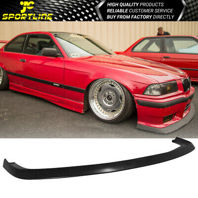 $195.99 • Buy Fits 92-98 BMW E36 M3 Only 2Dr 4Dr AC Style Front Bumper Lip Spoiler - PU