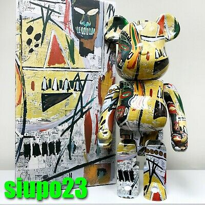 $5599.99 • Buy Medicom 1000% Bearbrick ~ Jean-Michel Basquiat 01 Be@rbrick