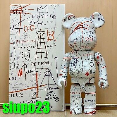 $4999.99 • Buy Medicom 1000% Bearbrick ~ Jean-Michel Basquiat 02 Be@rbrick