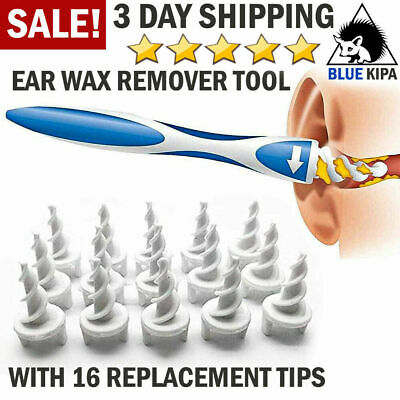 AU9.82 • Buy Ear Wax Removal Tool Cleaning Ear Wax Cleaner Q-Grips Ear Wax Remover 16 Tips