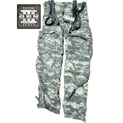 $27.99 • Buy Military Issued ACU Soft Shell Cold Weather Wind Trousers-NEW