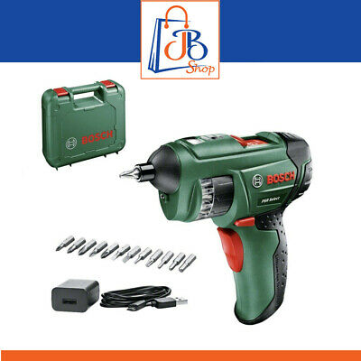 View Details Bosch PSR Select Cordless Screwdriver With Integrated 3.6 V Lithium-Ion Battery • 64.99£