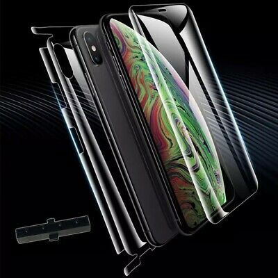 AU13.95 • Buy Full Edge HydroGel Screen Protector For IPhone X XS Front & Back