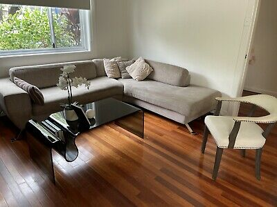 AU500 • Buy Living Room Sofa With Pillows And Arm Chair