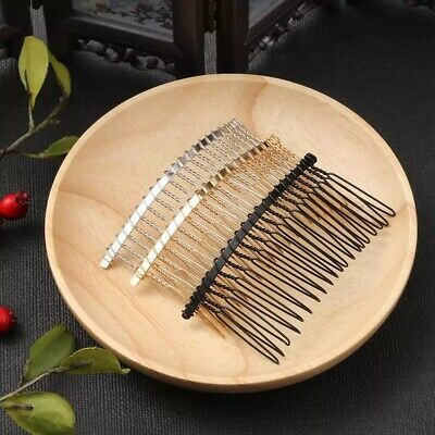 $ CDN3.62 • Buy Metal 5Pcs 20 Teeth 75X35mm Hair Clips Comb With Teeth Pin Barrettes Accessories