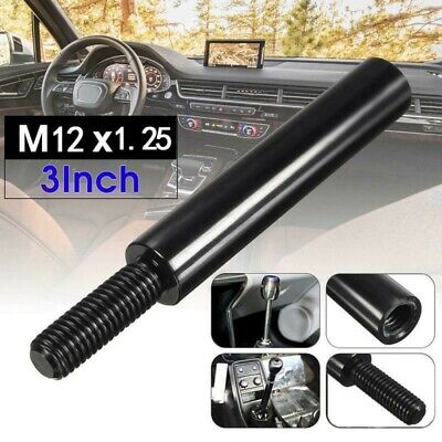 $8.13 • Buy 1x 3 Inch Car Shift Knob Extender M12X1.25 Lever Extension Gear Shifter Durable