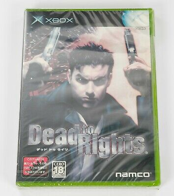 AU19.28 • Buy Dead To Rights - Original XBOX Japan JP NTSC-J - New & Sealed / Sunfade