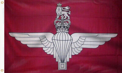 £4.95 • Buy Parachute Regiment 5ft X 3ft Flag British Military Army Armed Forces Large Paras
