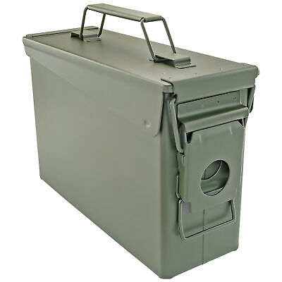 $19.99 • Buy .30 Cal Ammo Can Military Quality Ammunition Bullet Storage Box Brand New Green