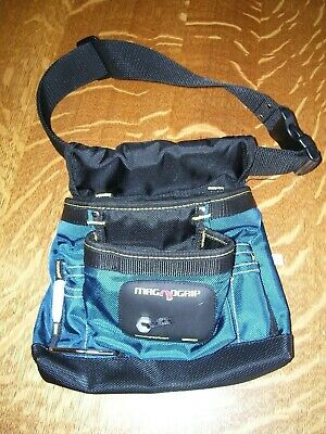 $7.98 • Buy NICE MagnoGrip  Magnetic Tool Pouch With Belt, Black Blue