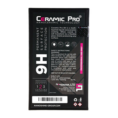 AU257.44 • Buy Ceramic Pro 9H Permanent Surface Protection Nanoshine LTD Car Coating Polish