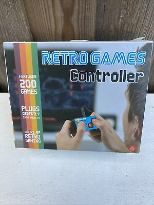£6.99 • Buy Retro Mini Controller - 200 Built In Games (Connects Straight To Your TV) NEW