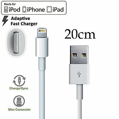 AU4.99 • Buy For Apple IPhone 6 7 8 PLUS XS XR 11 12 Mini Pro Max IPad IPod Short Cable Cord