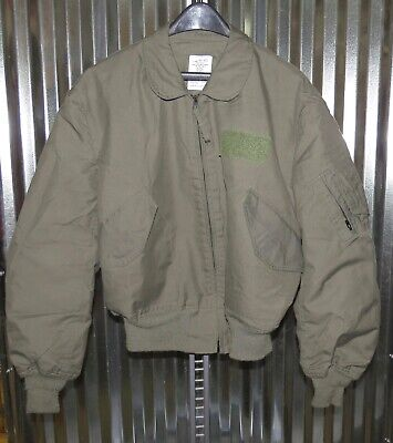 $ CDN217.79 • Buy USAF Mil-Spec Mens Nomex Summer Flyers Jacket Sage Green CWU-36/P X-Large 46-48