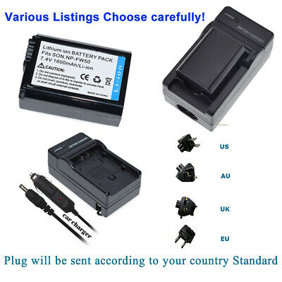 $ CDN23.94 • Buy NP-FW50 Camera Battery OR Charger For Sony A6000 A6500 A6300 A7II A7RII