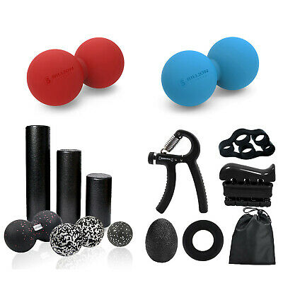 AU20.99 • Buy Yoga Foam Roller-Massage Ball /Trigger Point Muscle Massage-Pain Relief
