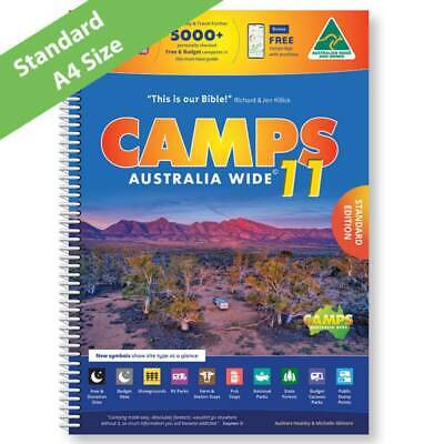 AU55 • Buy  2021 Camps 11 Australia Wide Book Caravan Camping Map Guide Spiral Bound Parts