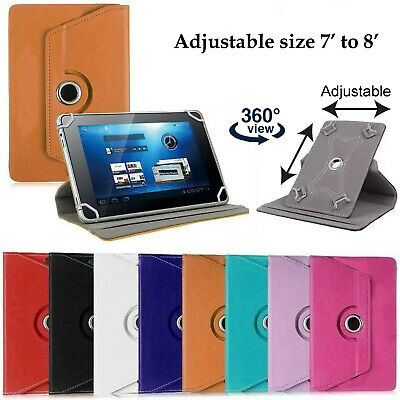 AU16.99 • Buy 360 Rotation Ollee 7 Inch Tablet Leather Cover Case Stand Wallet 7''