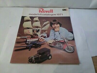 £24.99 • Buy Vintage Rare Revell Construction Model Kit Catalogue From 1971 With Price...