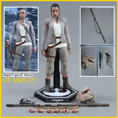 $ CDN403.15 • Buy Ready! Hot Toys MMS377 Star Wars The Force Awakens 1/6 Rey Resistance Outfit