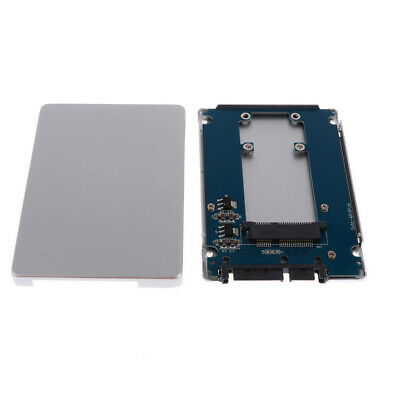 AU17.59 • Buy Mini MSATA SSD To 2.5  SATA3 Adapter Card Connector With Case 7 Mm White