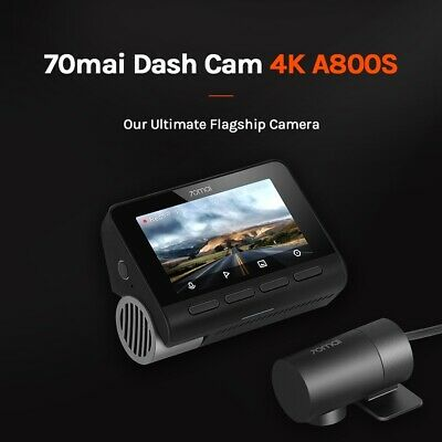 AU236.95 • Buy 70mai A800 GPS 4K Smart Dash Cam DVR Car Video Recording Global Dashcam