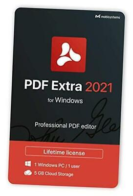 $ CDN172.17 • Buy PDF Extra 2021 - Professional PDF Editor – Edit, Protect, Annotate, Fill And