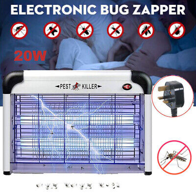 £20.99 • Buy Electric Insect Mosquito Fly Killer Bug Zapper UV Home Indoor Pest Catcher Trap