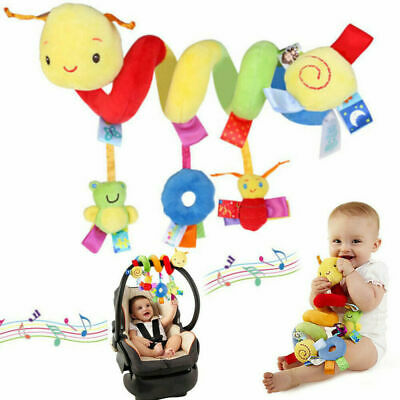 £7.19 • Buy Baby Activity Spiral Hanging Toy For Pushchair Pram Stroller Car Seat Cot Bed UK