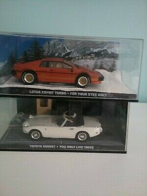 $ CDN32.75 • Buy Two James Bond 007 Model Cars Lotus Esprit And Toyota 2000gt
