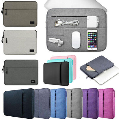 $14.53 • Buy Notebook Laptop Sleeve Carry Case Bag For 2016-2021 Macbook Pro Air 13 & M1